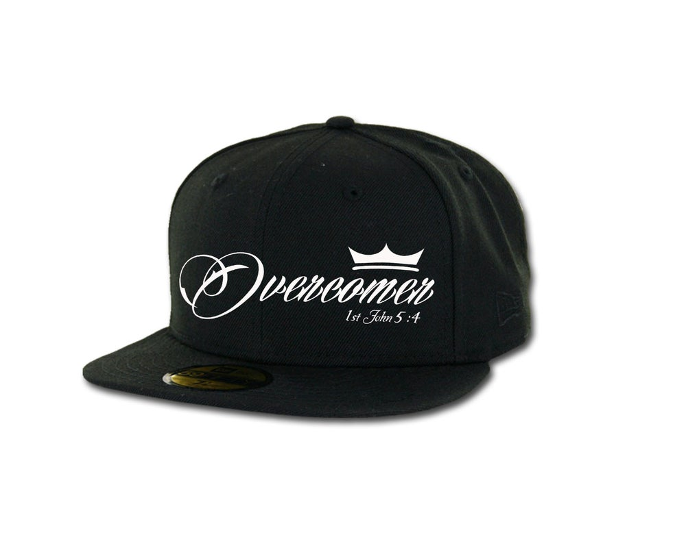 Image of Overcomer New Era Flatbill Snapback