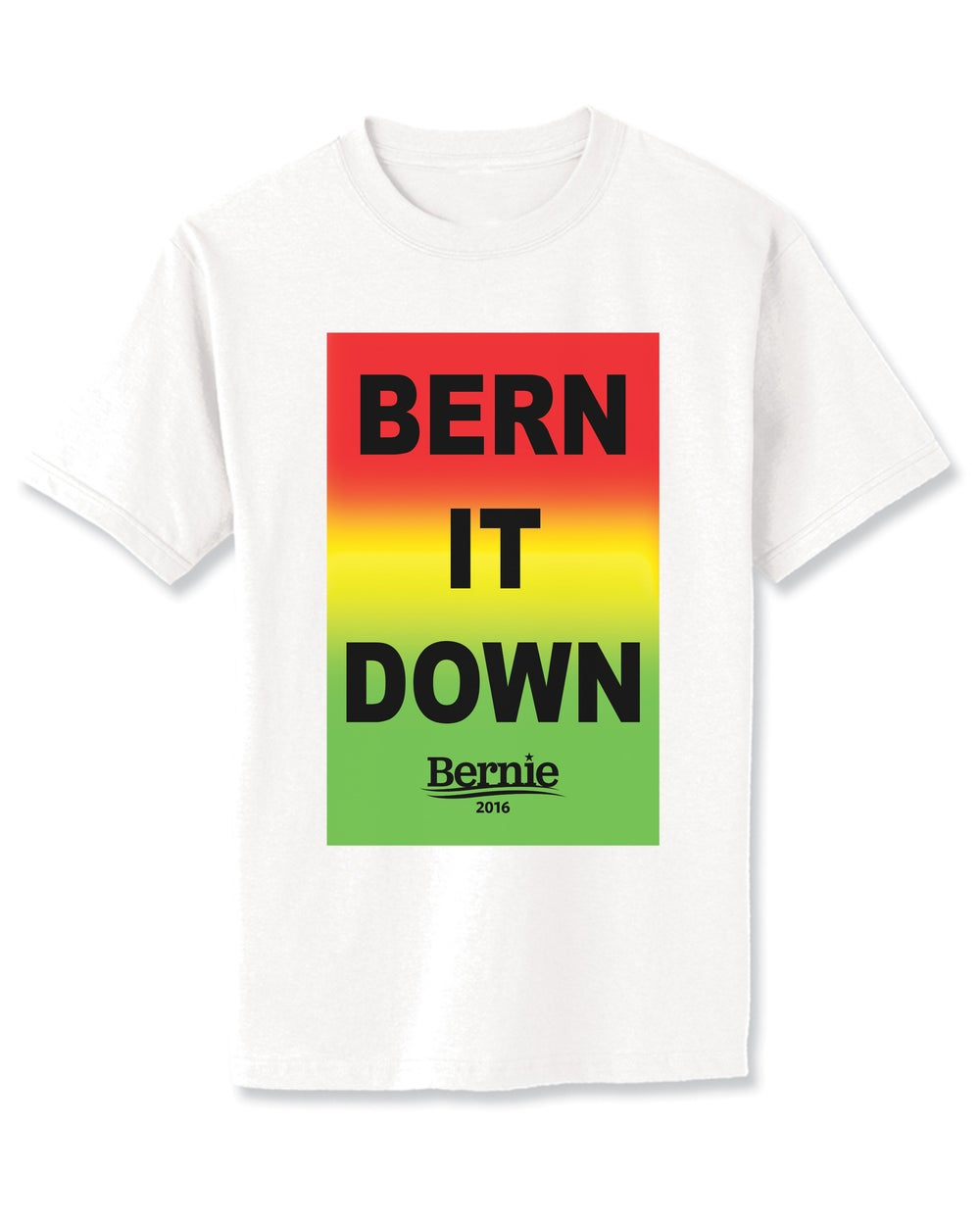 Image of BERN IT DOWN tee