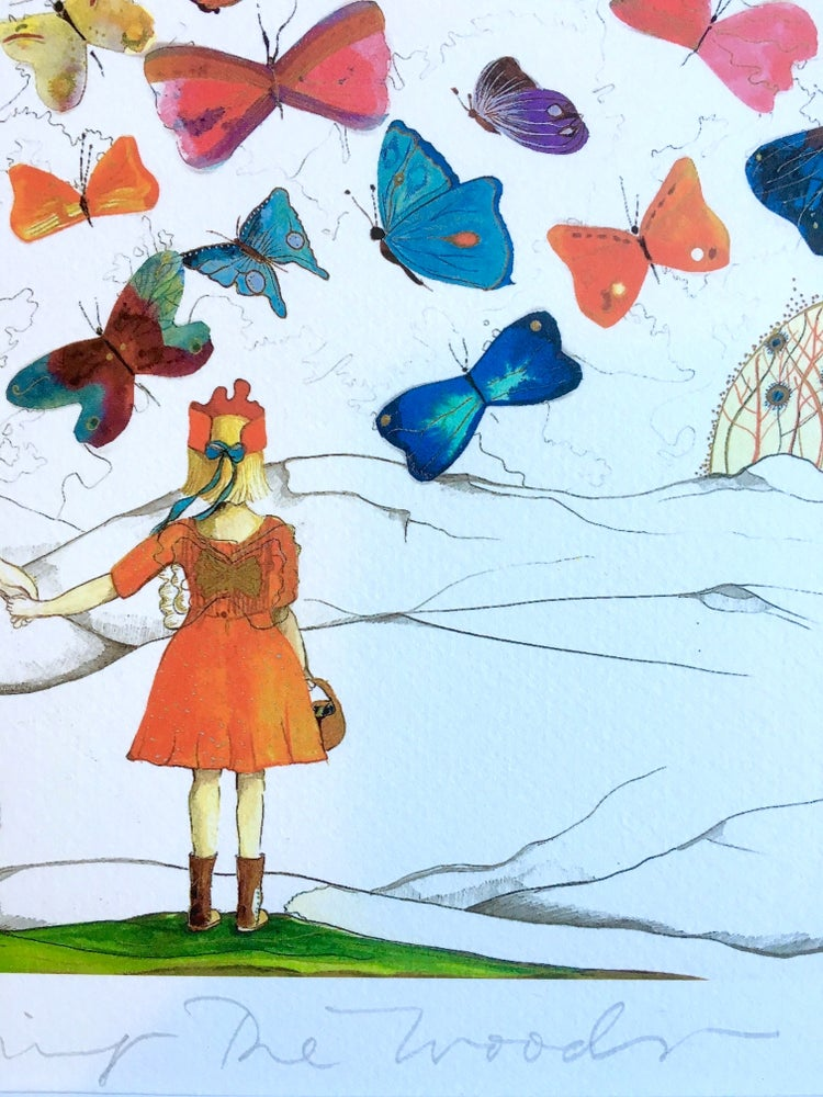 Image of Leaving the woods/ Butterfly girls