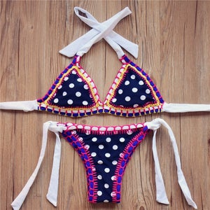 Image of SYNS FLOWER CROCHET KINIS