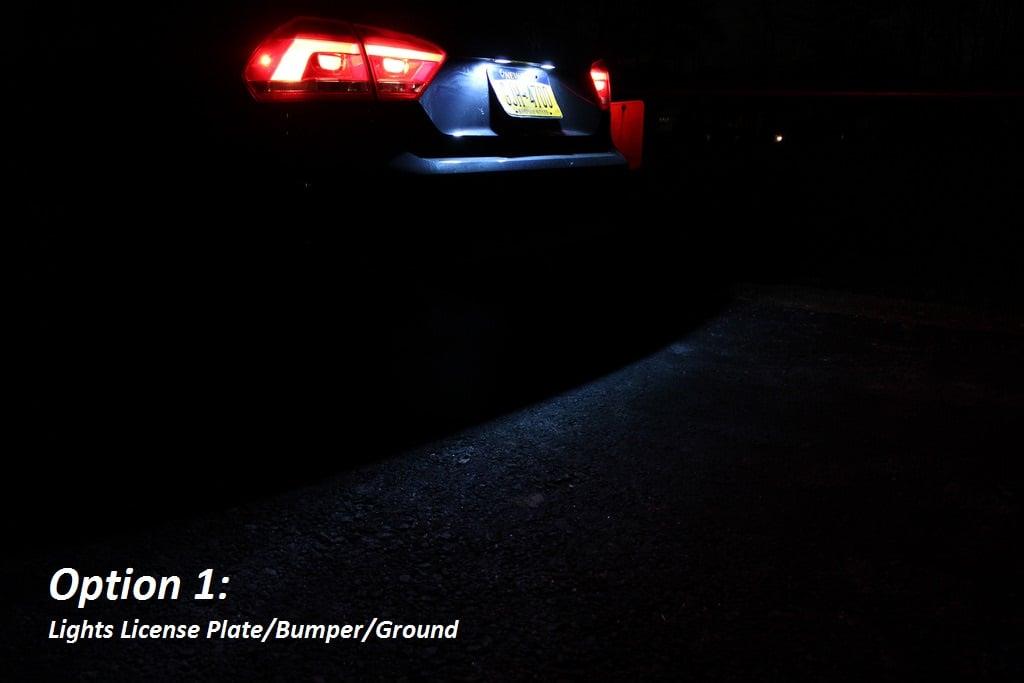 Image of License Plate LEDs [Error Free-Plug & Play] Fits: MKVII 2015+ Volkswagen GTI / Golf