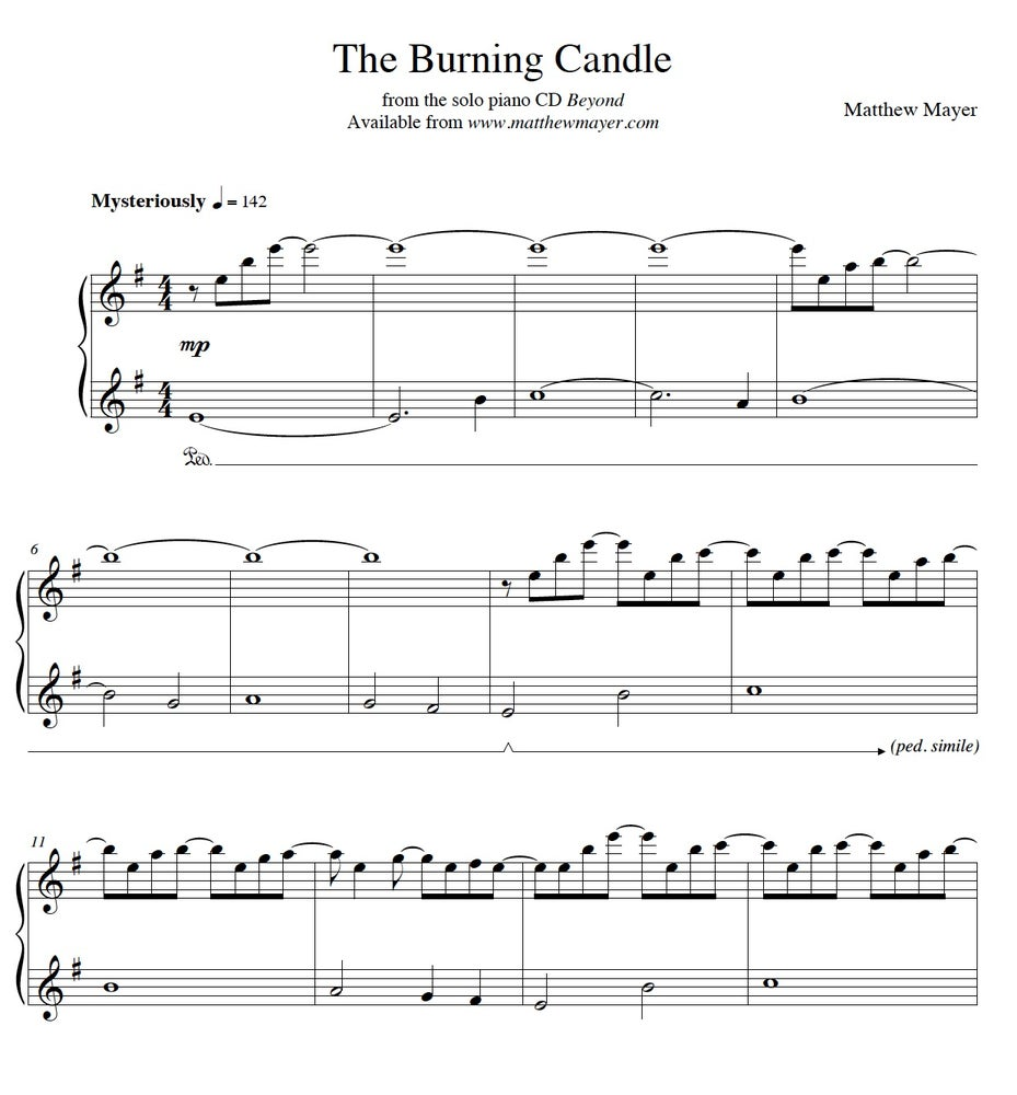 Image of New - The Burning Candle