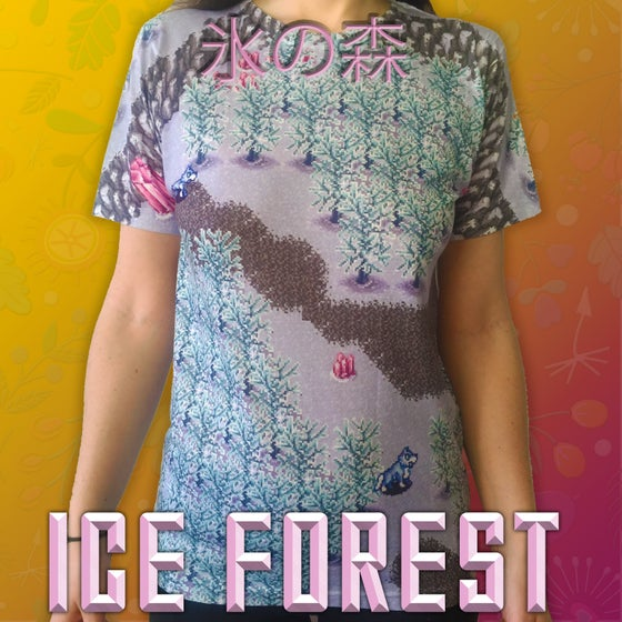 Image of 氷の森 Ice Forest Tee