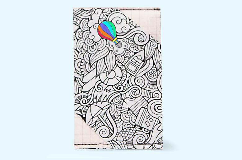 Image of Balloon - Tyvek Card Wallet