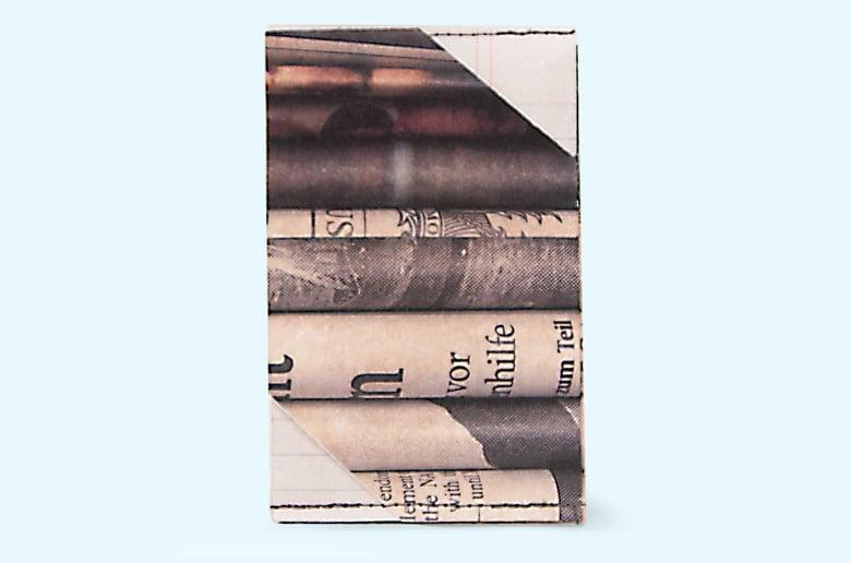 Image of Newspaper - Tyvek Card Wallet