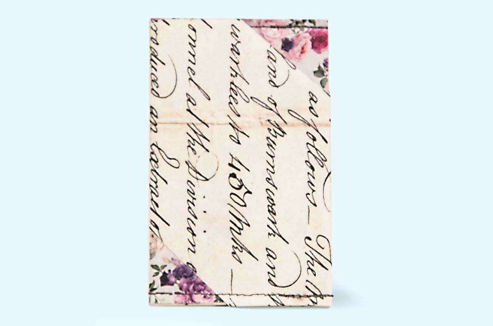 Image of Cursive - Tyvek Card Wallet