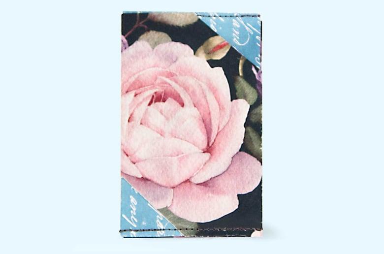 Image of Rose - Tyvek Card Wallet
