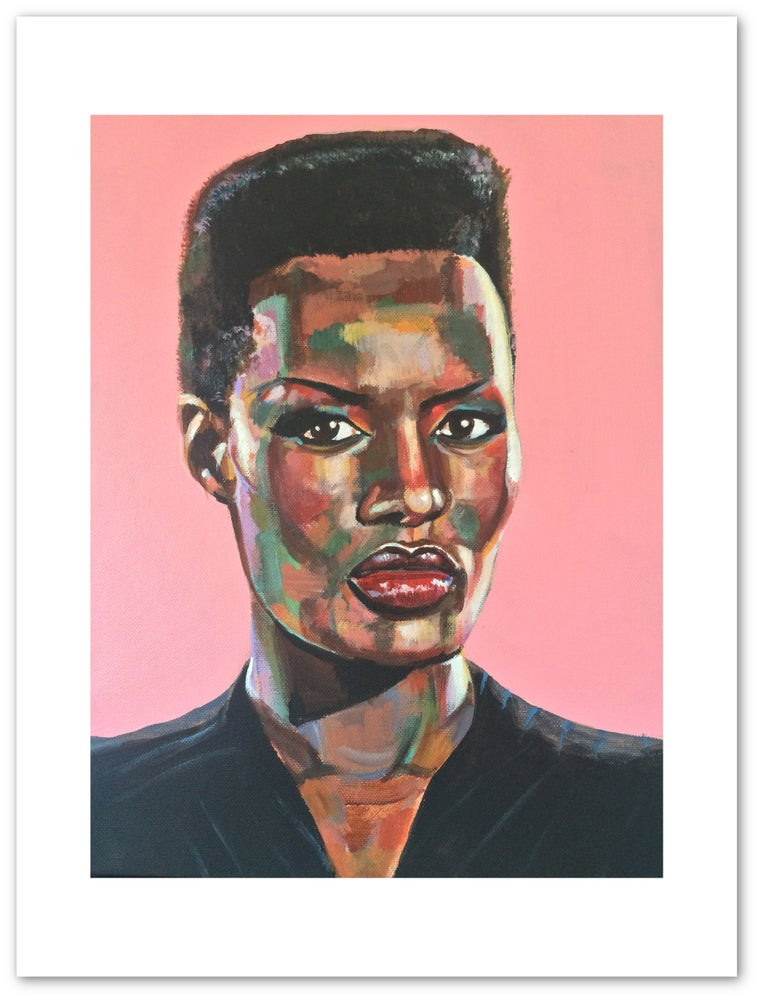 Image of Grace Jones Print