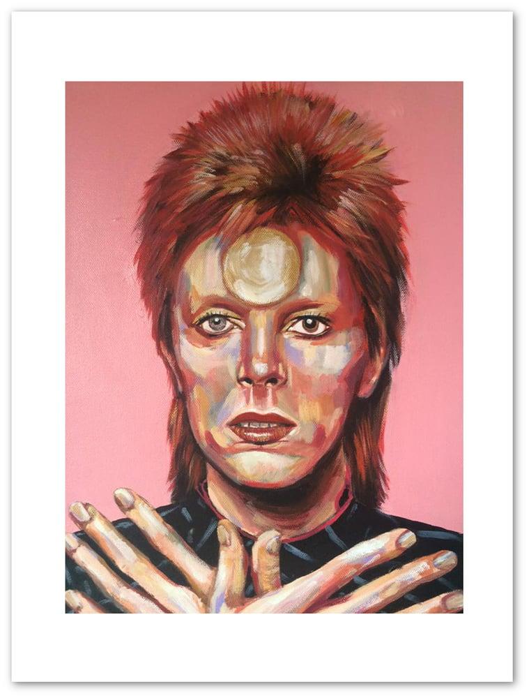 Image of Ziggy Stardust Print