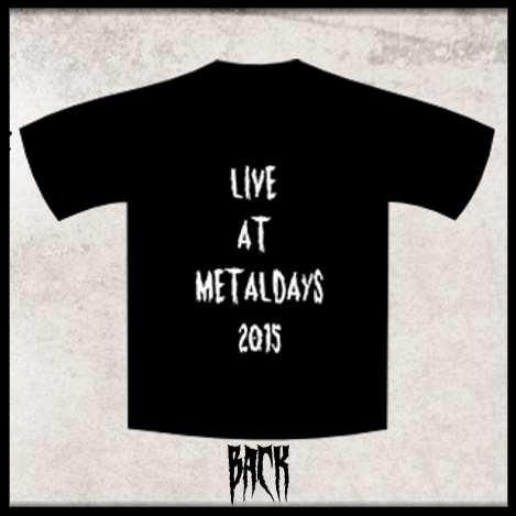 Image of Live at Metaldays 2015 Shirt