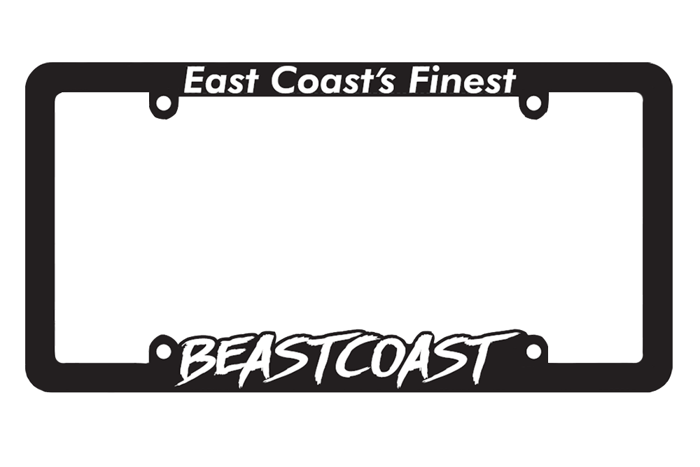 Image of Brushed Logo Plate Frames