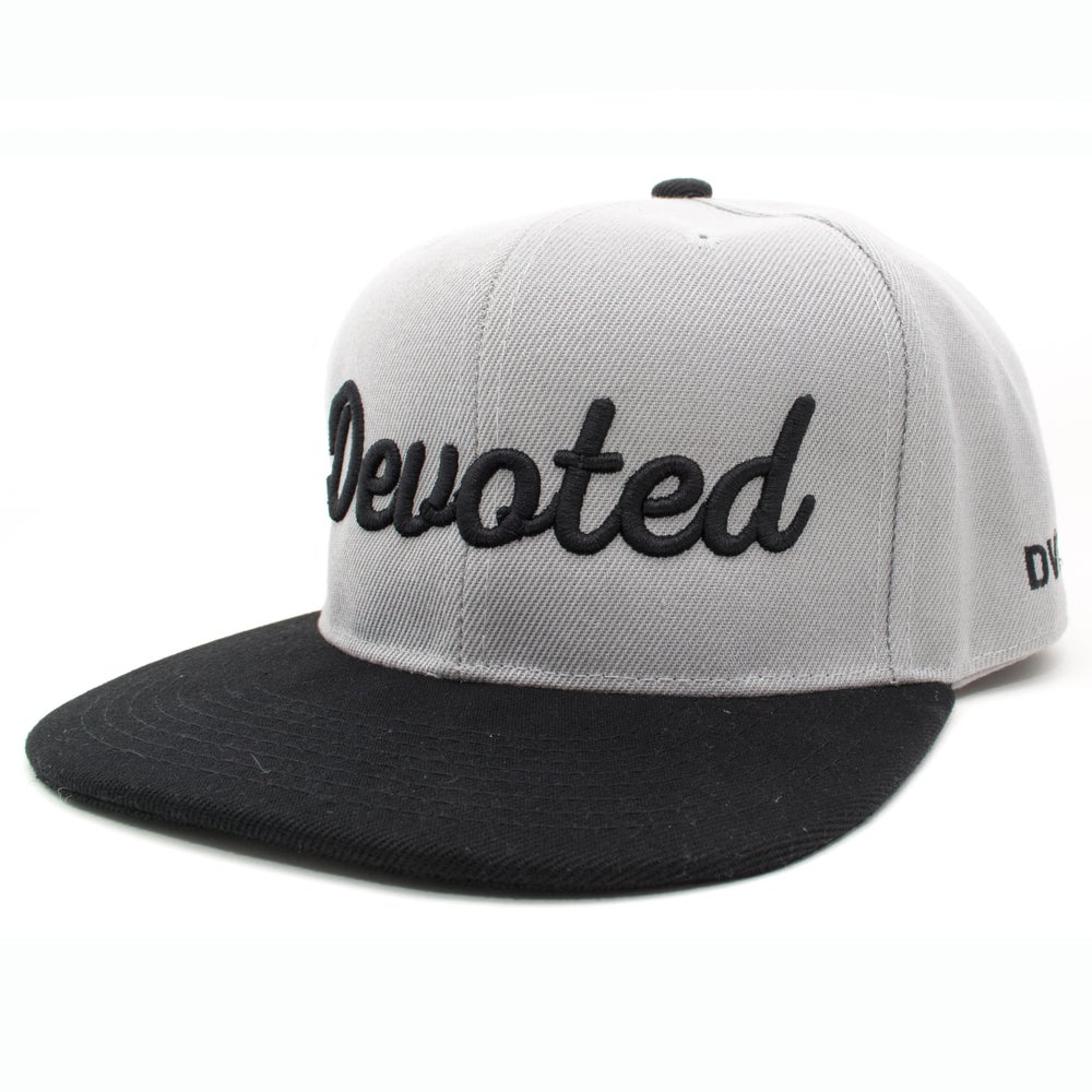 Image of The Standard Snapback - Gray/Black