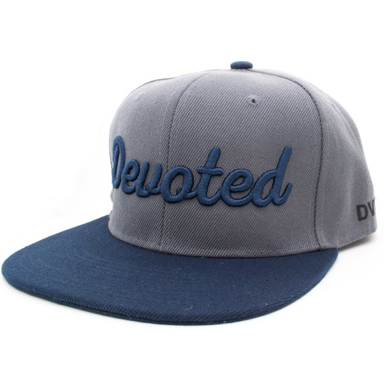Image of The Standard Snapback - Charcoal/Navy