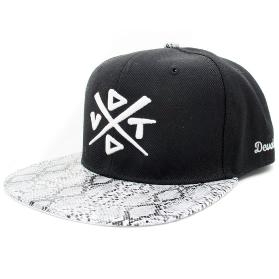 Image of The Python Snapback - Black