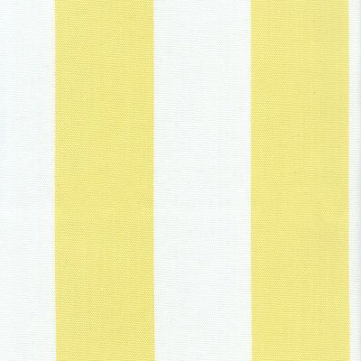 Fabric Freak Ff Sunny Yellow And White Stripe Outdoor Fabric