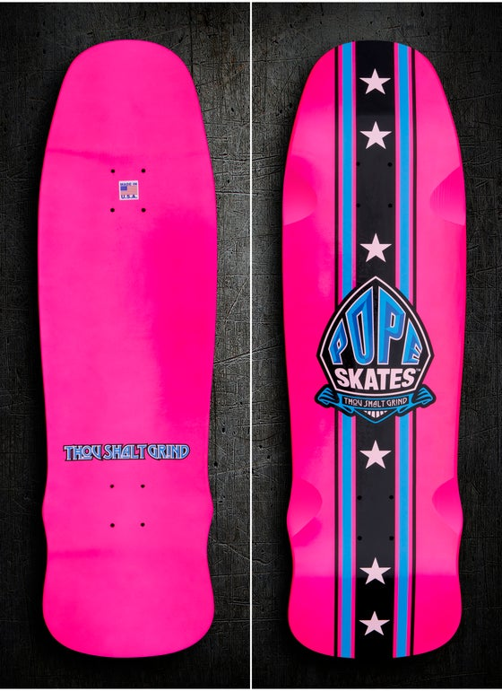 Image of Magenta & Blue Stuntman Series Pool Deck