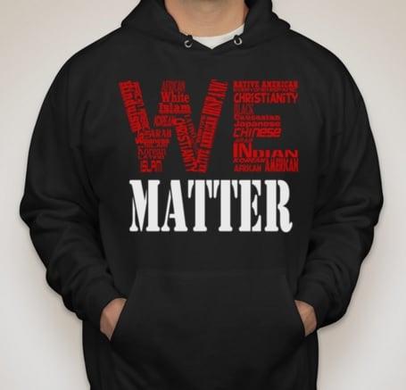 Image of Black We Matter Hoodie