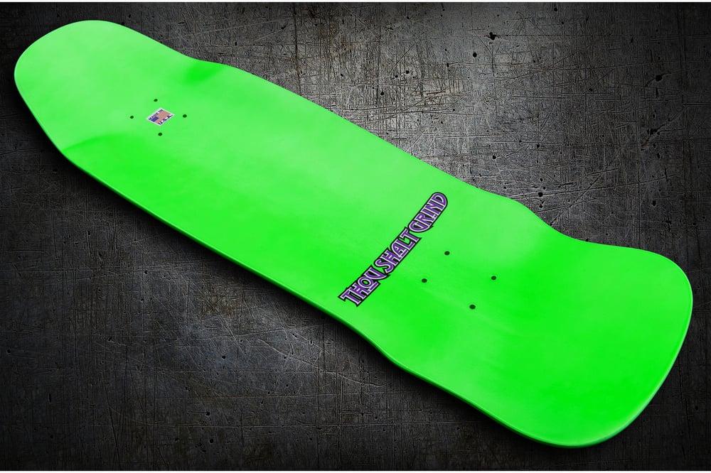 Image of Green & Purple Stuntman Series Pool Deck