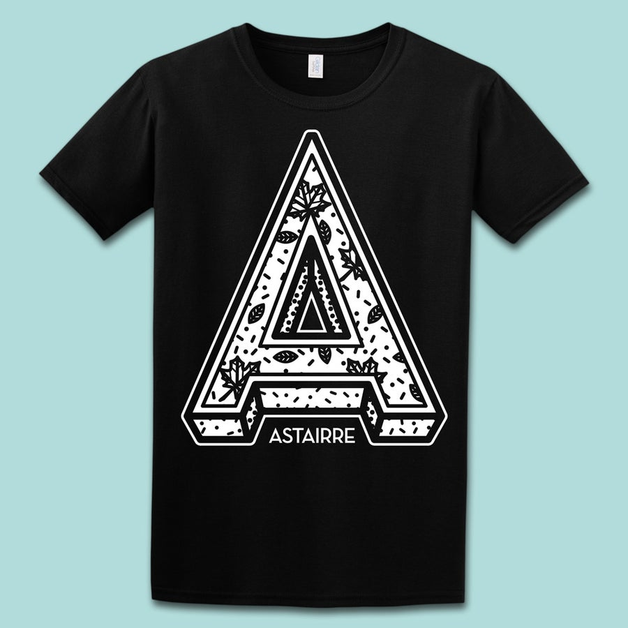 "Image of Shirt ""A"" schwarz"