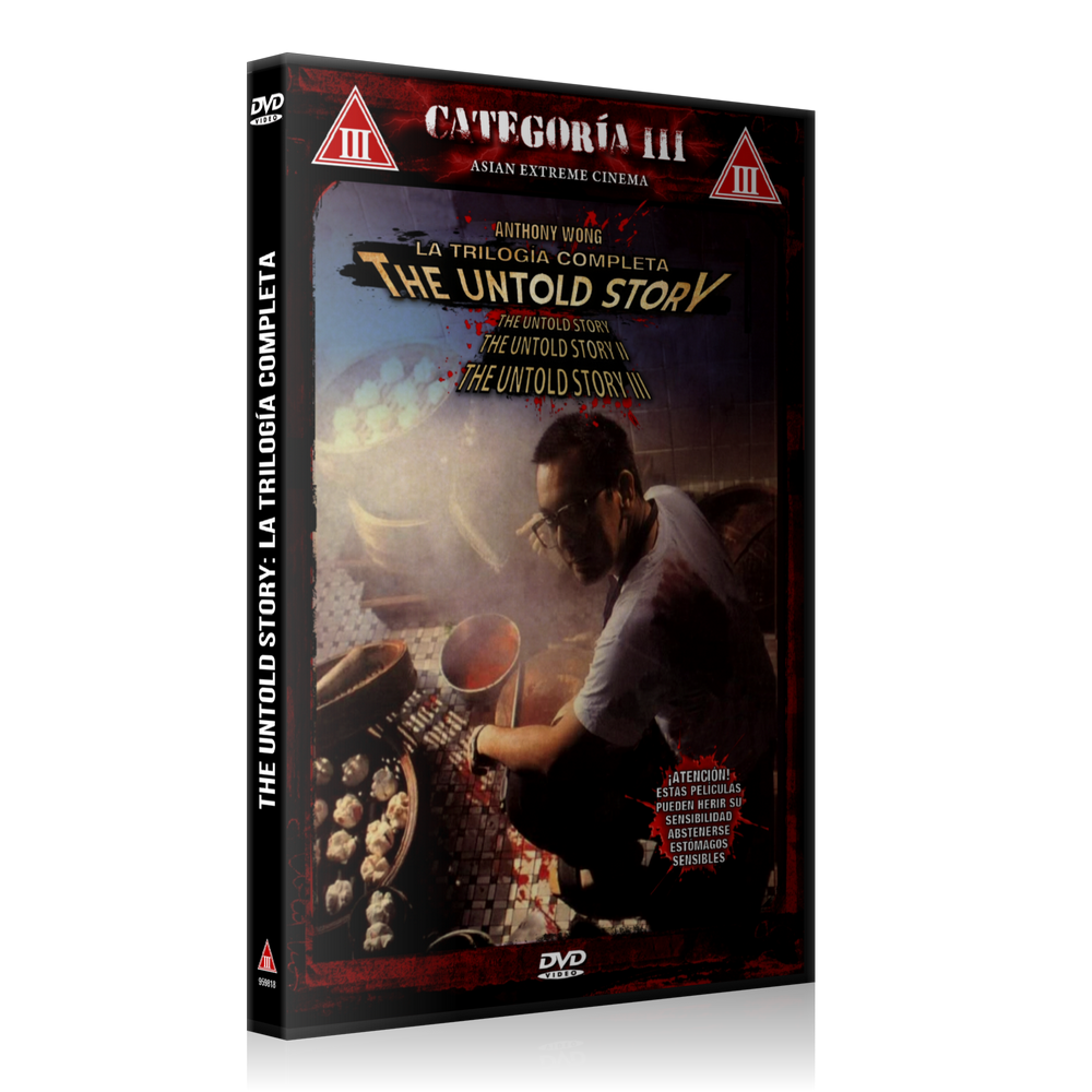 Image of The Untold Story: Trilogía Completa (2 DVD)