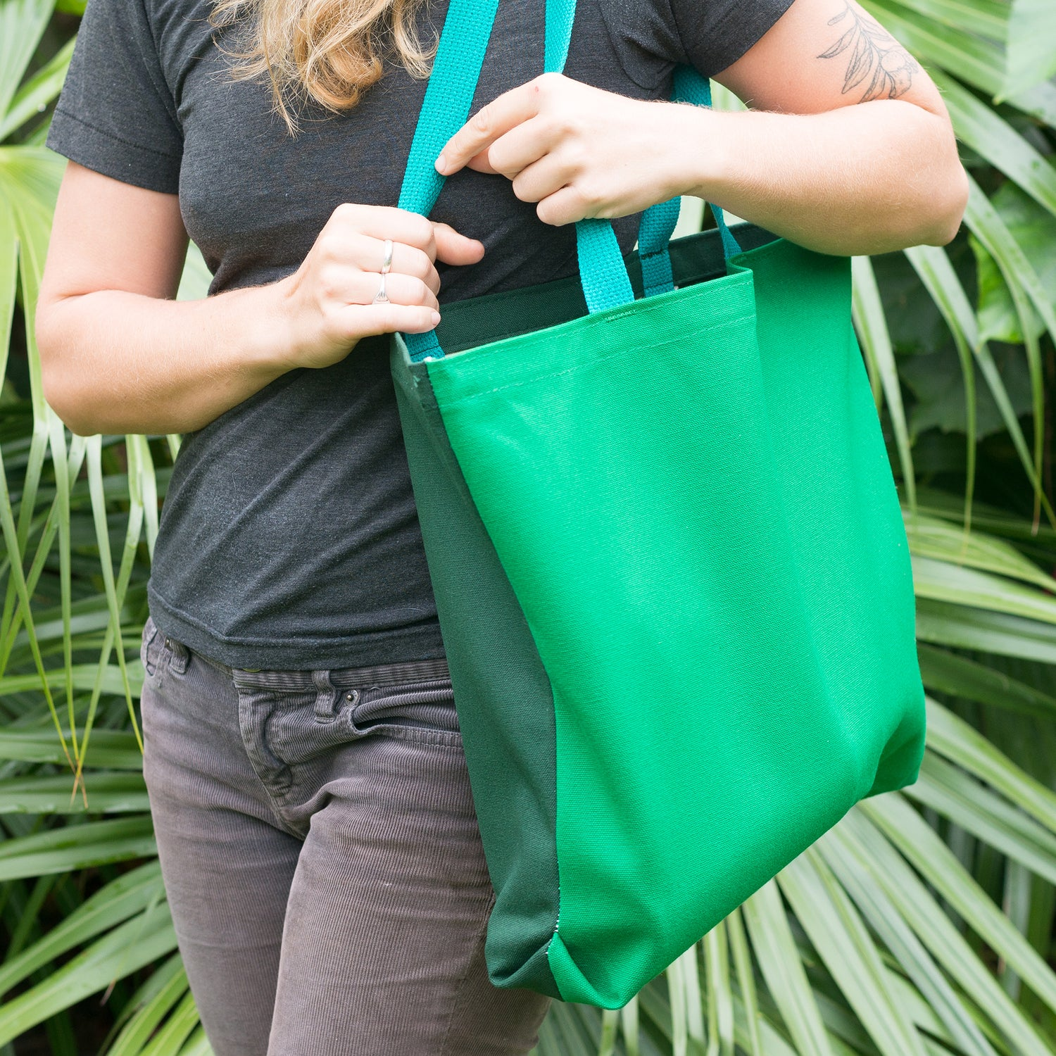 Image of Multi Green Tote