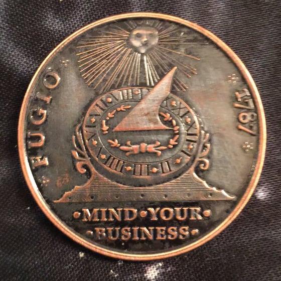 Image of Fugio Cent 1oz Copper Challenge Coin