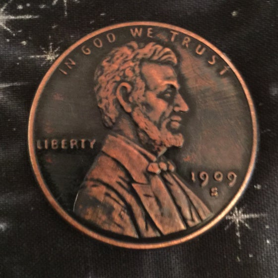 Image of Big F%#$ing Penny 1oz Copper Challenge Coin