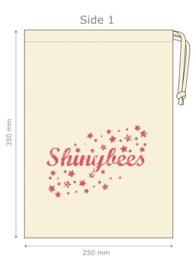 Image of Shinybees Logo Project Bag