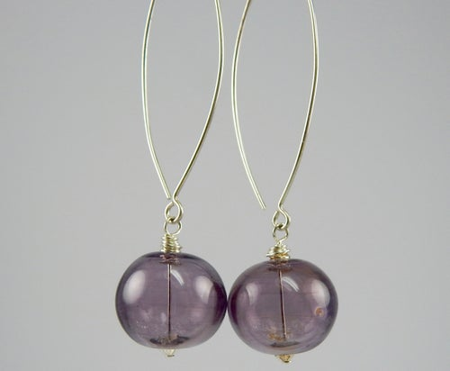 Image of Artisan Glass • Blown Lavender Glass
