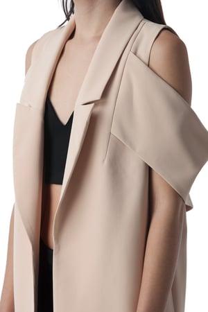 Image of Cold-Shoulder Jacket