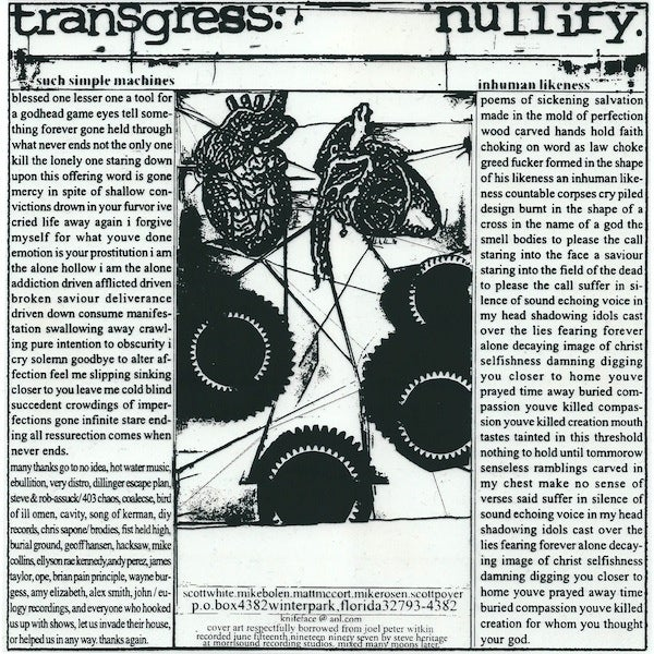 Image of Dragbody 'Transgress.Nullify.' 7""