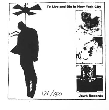 "Image of Indecision 'To Live And Die In New York City' 12"" Silk Screened"