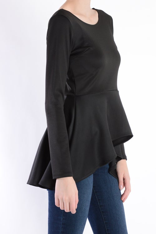 Image of Peplum top