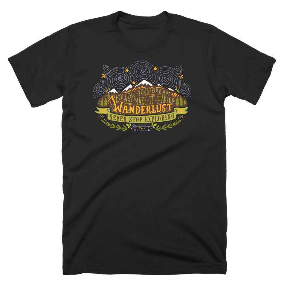 Image of Wanderlust T-Shirt