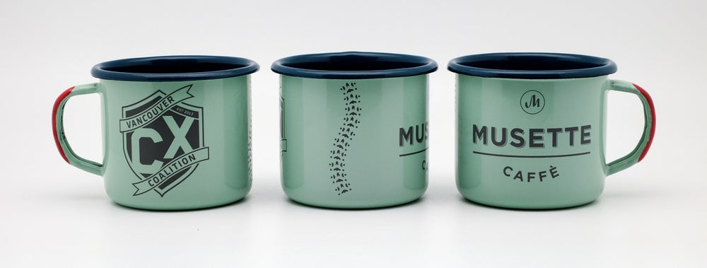 Image of VCXC Enamel Mug