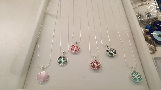 Image of Tree of life necklace set