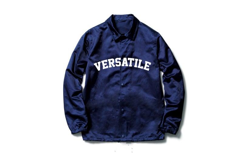 Image of VER$A Navy Blue Windbreaker