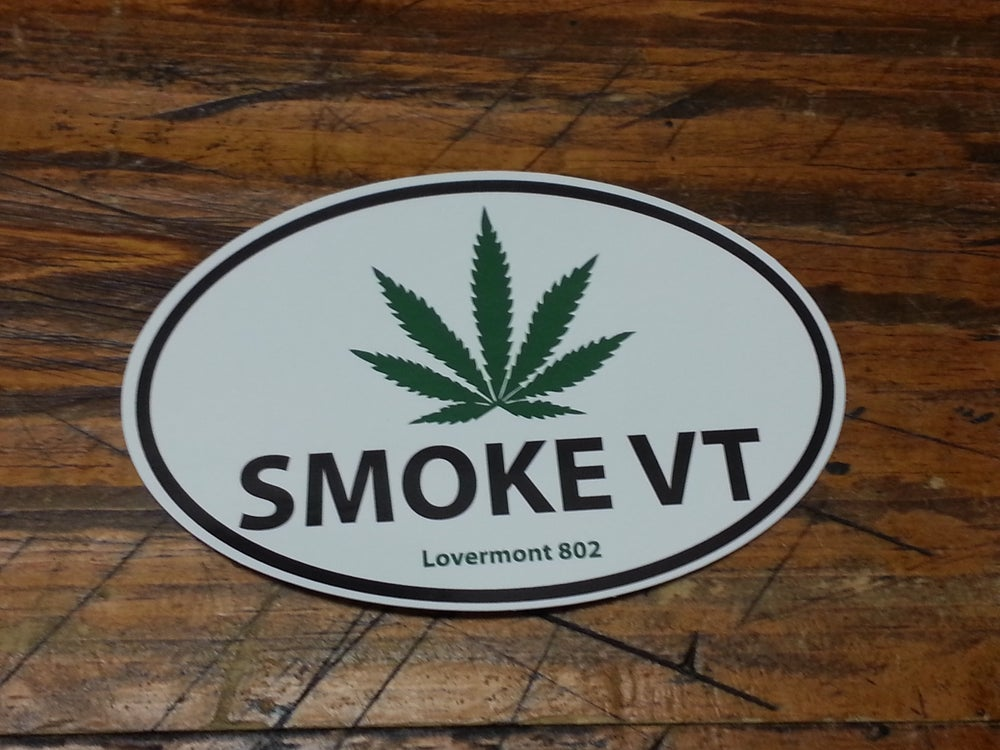 Image of Smoke VT - Digitally Printed Euro Sticker