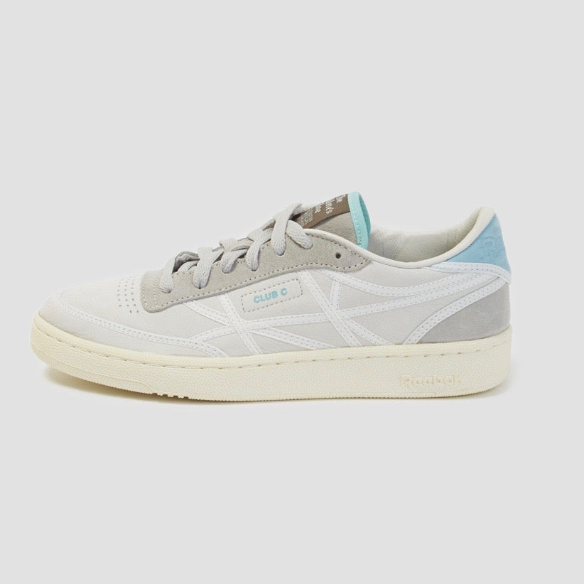 Image of Reebok X Garbstore Club C Internationale White Chalk