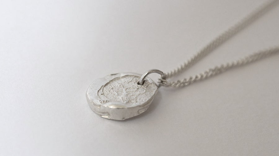 Image of Enso Disk Pendant - Small