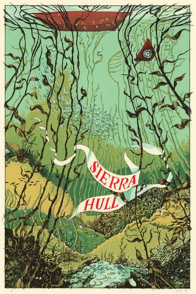 "Image of Sierra Hull (Tour Poster) • Limited Edition Official Poster (18"" x 24"")"
