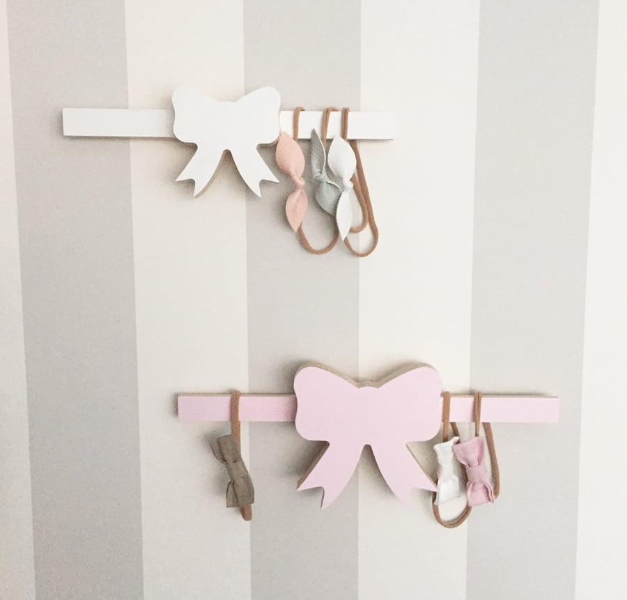 Image of Medium size Bow head band hanger 30cm