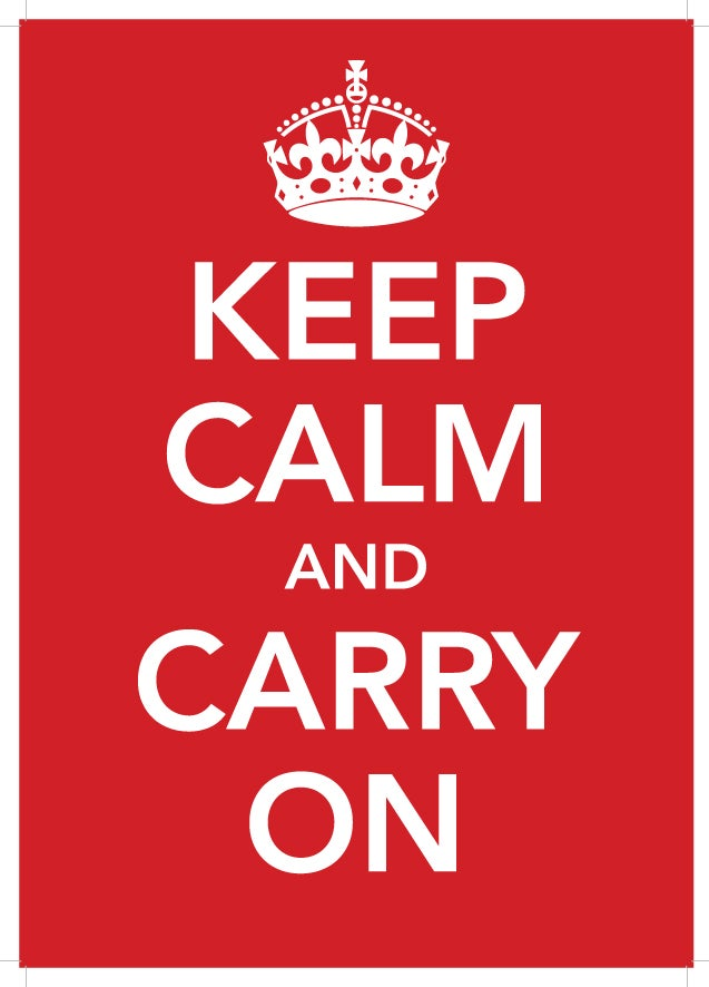 Image of Keep Calm & Carry On