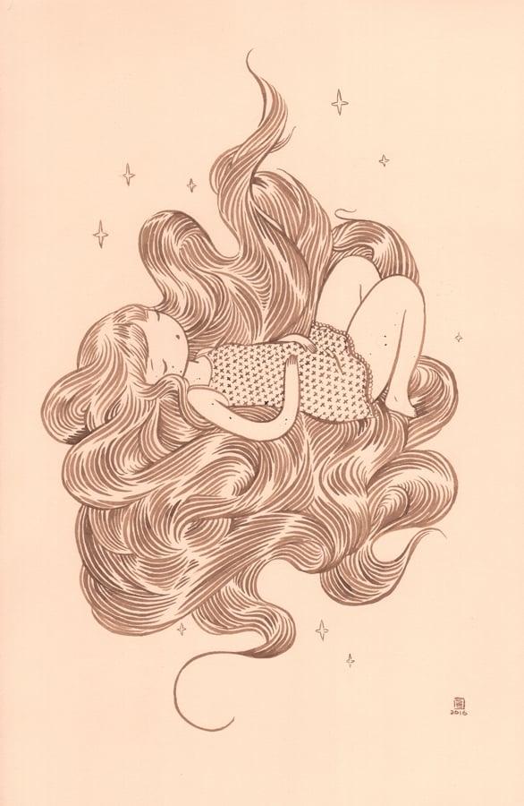 """""""Night Sky"""" by Stasia Burrington"""