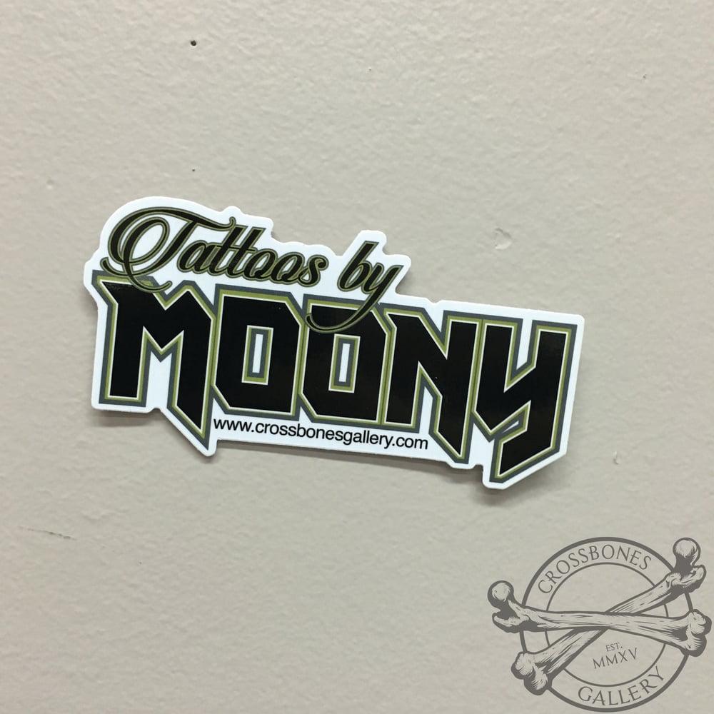 Tattoos by Moony Vinyl Sticker