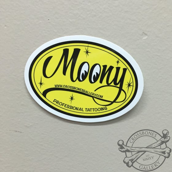 Image of Moon-Eyes Moony Vinyl Sticker
