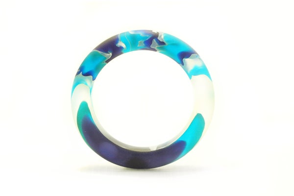 Image of Azure Slender Bangle