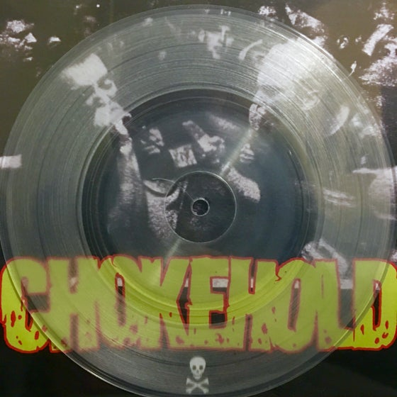 Image of Chokehold 'Tooth & Nail' European Press 7""