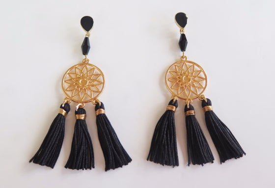 Image of Olivia Black Earrings