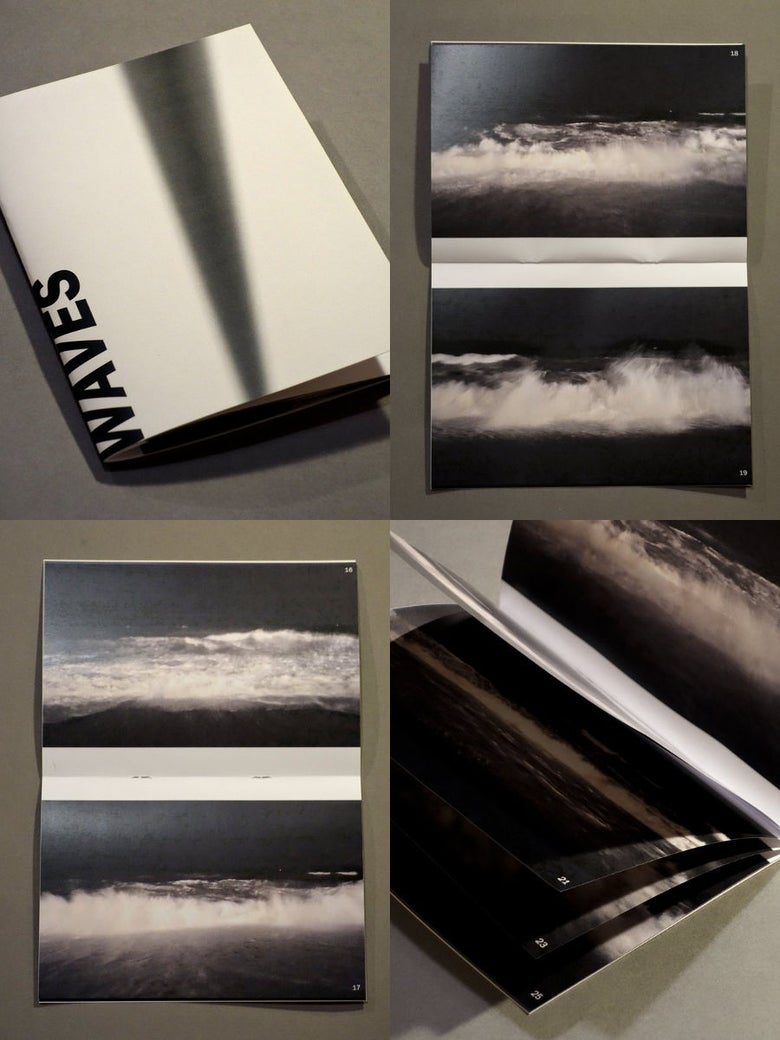 Image of waves zine